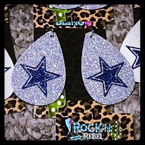 Dallas cowboys earrings